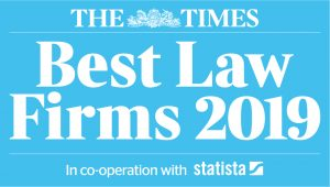The Times Best Law Firms 2019